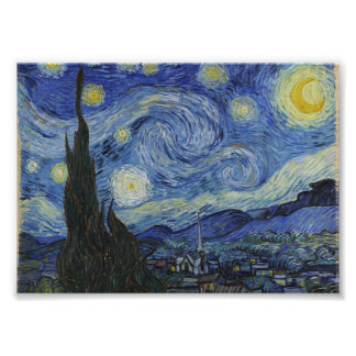 Starry Night by Vincent van Gogh Photo Art