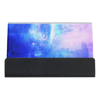 Starry Night Desk Business Card Holder