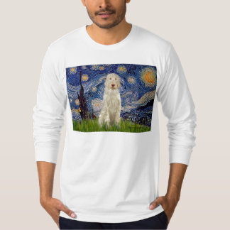 Starry Night - Italian Spinone #12 T-Shirt