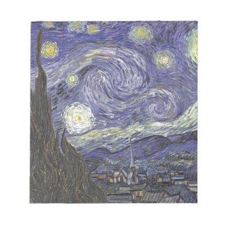 Starry Night Notepad