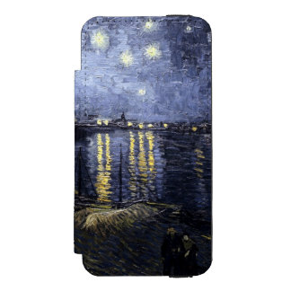 Starry Night over the Rhone by Vincent van Gogh Incipio Watson™ iPhone 5 Wallet Case