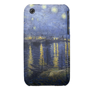 Starry Night Over the Rhone iPhone 3G/3GS Case iPhone 3 Case-Mate Case