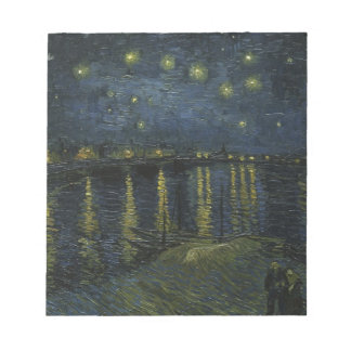 Starry Night over the Rhone Notepad