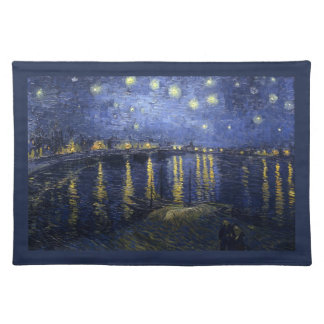 Starry Night Over the Rhone - Van Gogh (1888) Placemat