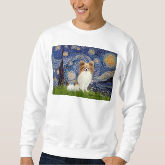Starry Night - Papillon #4 Sweatshirt