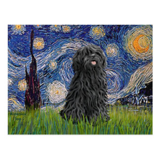 Starry Night - Puli Postcard