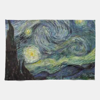 Starry Night - van Gogh Towels