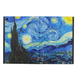 Starry Night Vincent Van Gogh painting Cover For iPad Air