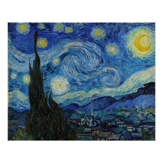 Starry Night | Vincent Van Gogh Poster