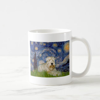 Starry Night - Wheaten Terrier 1 Coffee Mug