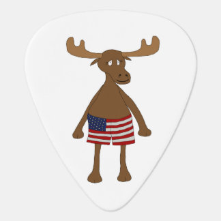 Stars and Stripes, Eh? Guitar Pick