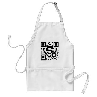 Stars and Stripes QR Code Aprons