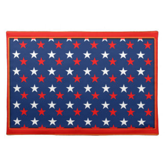 Stars cloth placemat