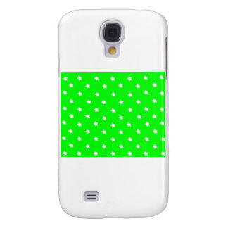 Stars Green White The MUSEUM Zazzle Gifts Galaxy S4 Cases