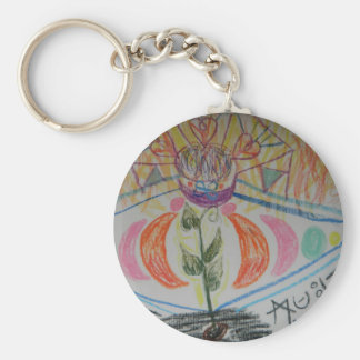 Starseed Activation Basic Round Button Key Ring