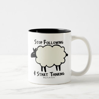 Start Thinking Coffee Mug