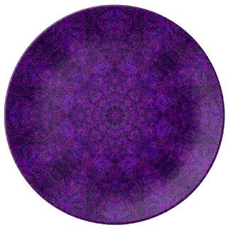 Starwheel Weave Mandala Plate