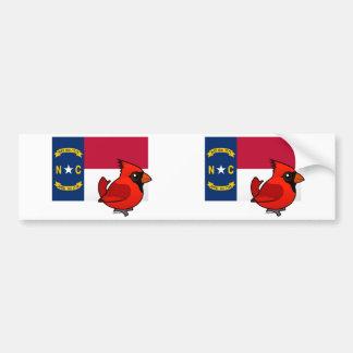 State Birdorable of North Carolina Bumper Sticker