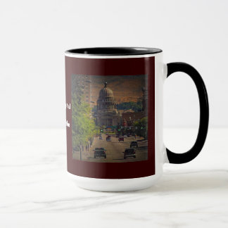 State Capital  in Boise, Idaho Mug