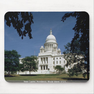 State Capitol, Providence, Rhode Island, U.S.A. Mouse Pad