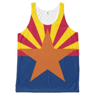 State Flag of Arizona All-Over Print Singlet