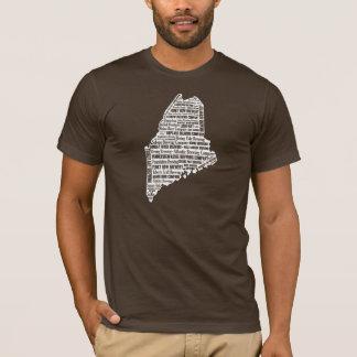 """State of Beer"" - Men's dark short sleeve T-Shirt"
