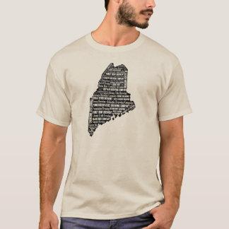 """""""State of Beer"""" - Men's light short sleeve T-Shirt"""