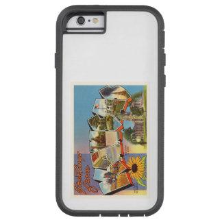 State of Kansas KS Old Vintage Travel Souvenir Tough Xtreme iPhone 6 Case