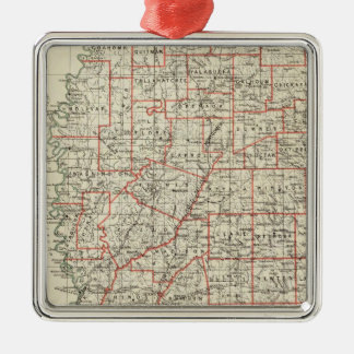 State of Mississippi Christmas Ornament