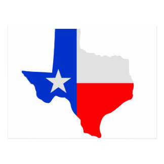 State of Texas Lone Star Postcard