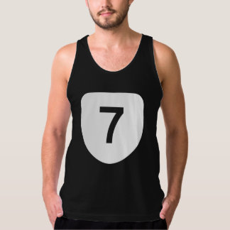 State Route 7, Virginia, USA Singlet