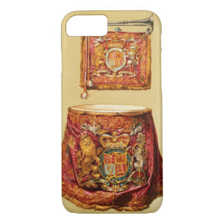 State trumpet, probably George III, and kettledrum iPhone 8/7 Case
