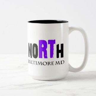 Station North, Baltimore Maryland Two-Tone Coffee Mug