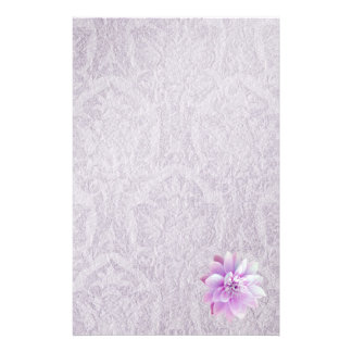 Stationery Old Lilac Paper Lilac Lotus Flower