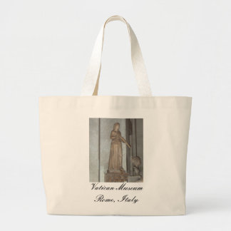 Statue in the Vatican Museum in Rome, Italy Bag