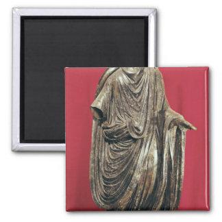 Statue of Caesar Julianus Pacatianus Square Magnet