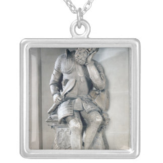 Statue of Charles de Maigny  1557 Silver Plated Necklace
