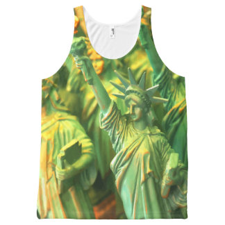 Statue Of Liberty All-Over Print Singlet