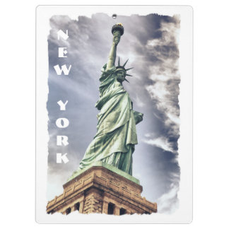 Statue of Liberty custom clipboard