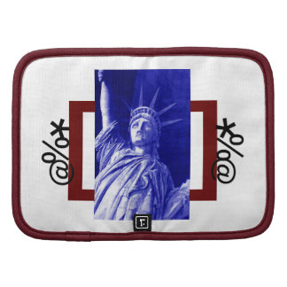 Statue of Liberty Folio Mini Organizer