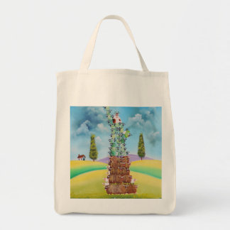 Statue of Liberty made of sheep Gordon Bruce art Tote Bag