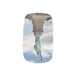 Statue of Liberty Minx Nail Art
