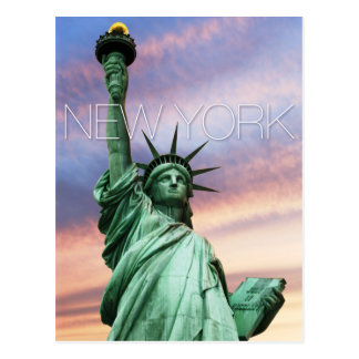 statue of liberty new york post cards