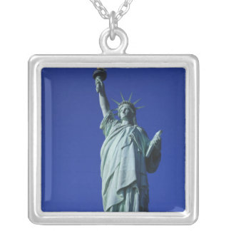 Statue of Liberty, New York, USA 4 Silver Plated Necklace