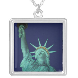 Statue of Liberty, New York, USA 5 Silver Plated Necklace