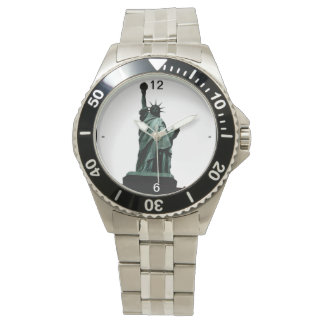 Statue of Liberty NYC Stainless Steel Watch