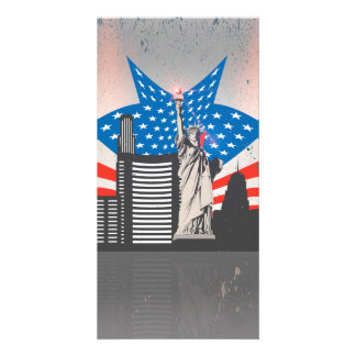 Statue of Liberty Custom Photo Card