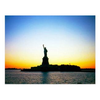 """Statue of Liberty"" postcard"