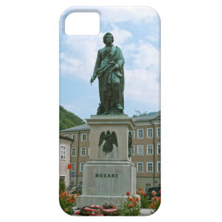 Statue of Mozart in Salzburg iPhone 5 Cover