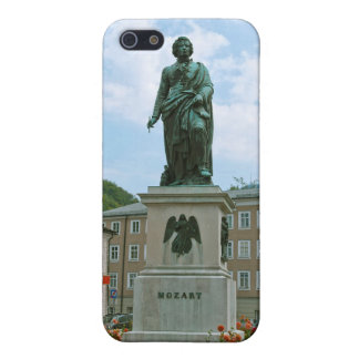 Statue of Mozart in Salzburg iPhone 5 Covers